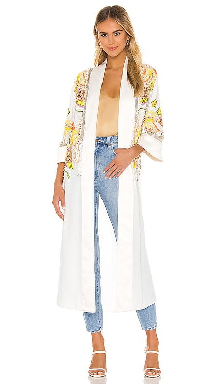 x REVOLVE Phuket Bed Jacket House of Harlow 1960 $599