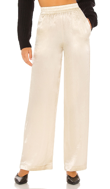 x REVOLVE Lounge Satin Pant House of Harlow 1960 $158 NEW