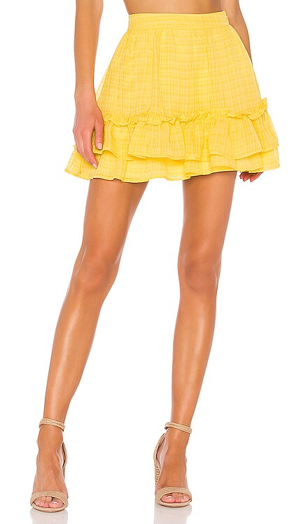 X REVOLVE Soledad Mini Skirt House of Harlow 1960 $75