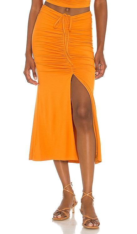 x Sofia Richie Sunnie Midi Skirt House of Harlow 1960 $158 NEW