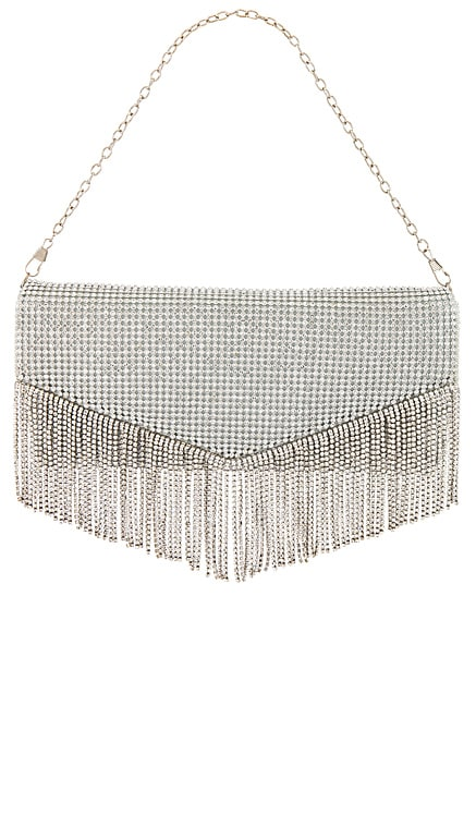 x REVOLVE Diana Fringe Clutch House of Harlow 1960 $178
