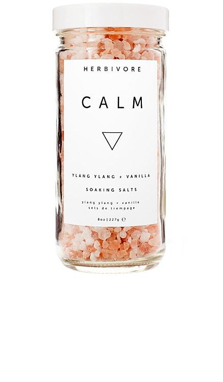 Calm Dead Sea Salts Herbivore Botanicals $18