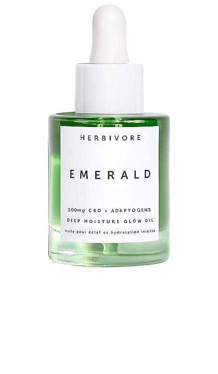 Emerald + CBD Glow Oil Herbivore Botanicals $58 BEST SELLER