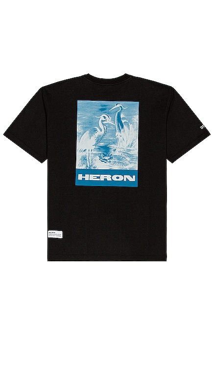 Herons Litho Tee Heron Preston $255
