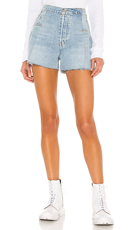 Paperbag Loose Short Hudson Jeans $185 NEW