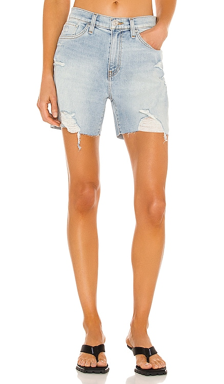 Devon High Rise Biker Short Hudson Jeans $145