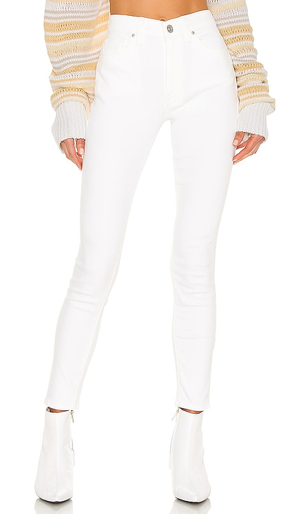 Barbara High Waist Super Skinny Ankle Hudson Jeans $185