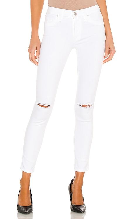 Nico Mid Rise Super Skinny Crop Hudson Jeans $175 NOUVEAU