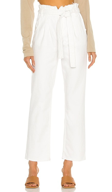 Remi High Rise Paperbag Straight Hudson Jeans $175