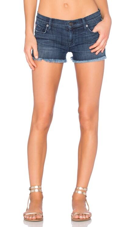 Amber Unfinished Hem Short Hudson Jeans $109
