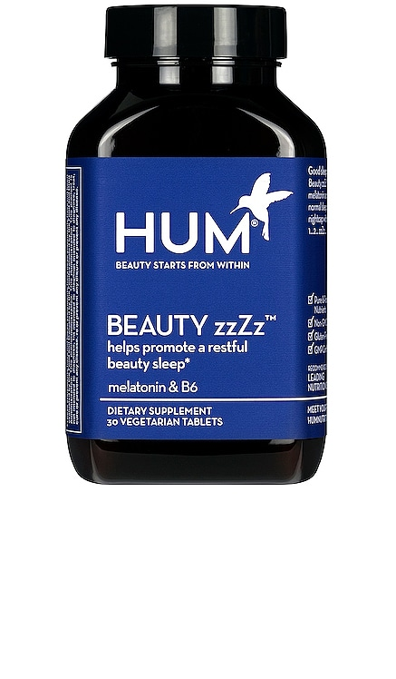 Beauty zzZz Sleep Support Supplement HUM Nutrition $10 BEST SELLER