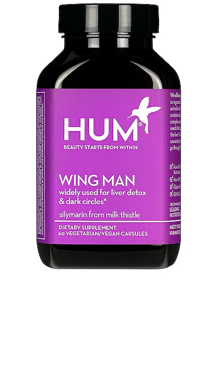 Wing Man Liver Detox and Dark Circle Supplement HUM Nutrition $26