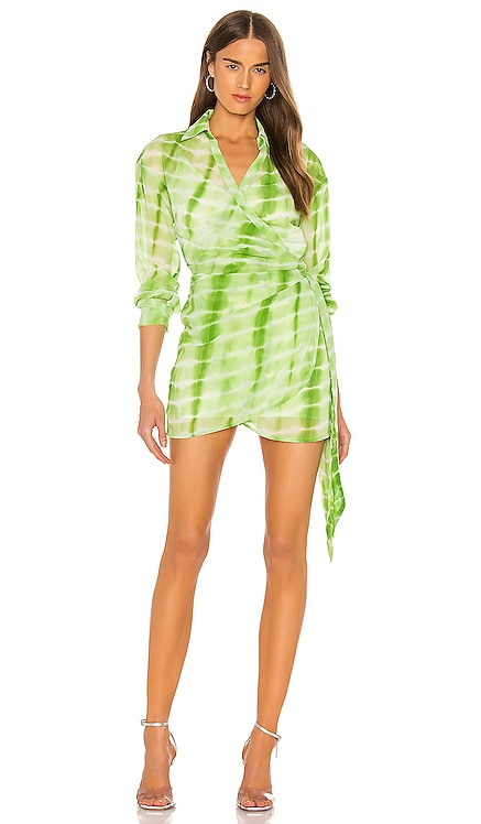 Jaqi Wrap Dress h:ours $218