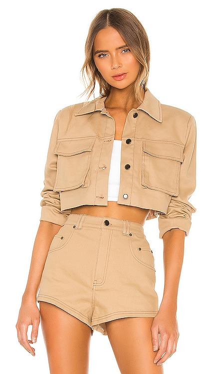 Union Cropped Jacket h:ours $188 BEST SELLER