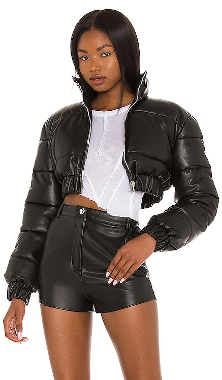 Blaine Cropped Puffer Jacket h:ours $248