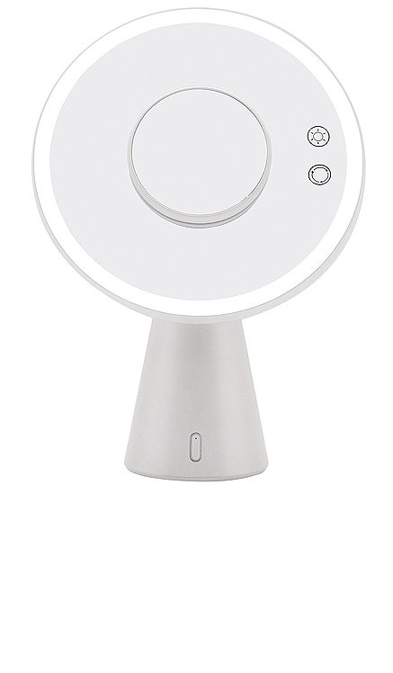 Luna Makeup Mirror and Night Lamp with Bluetooth Speakers Impressions Vanity $99 NOUVEAU