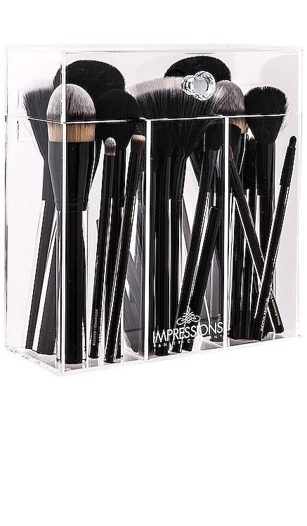 Diamond Collection Brush Holder Impressions Vanity $49 BEST SELLER