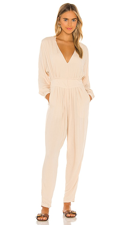 Gianyar Pleated Jumpsuit Indah $211