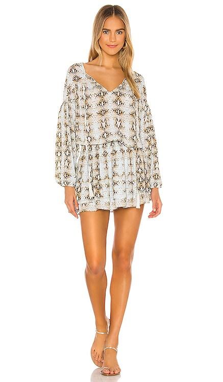 Sashi Blouson Mini Dress Indah $189