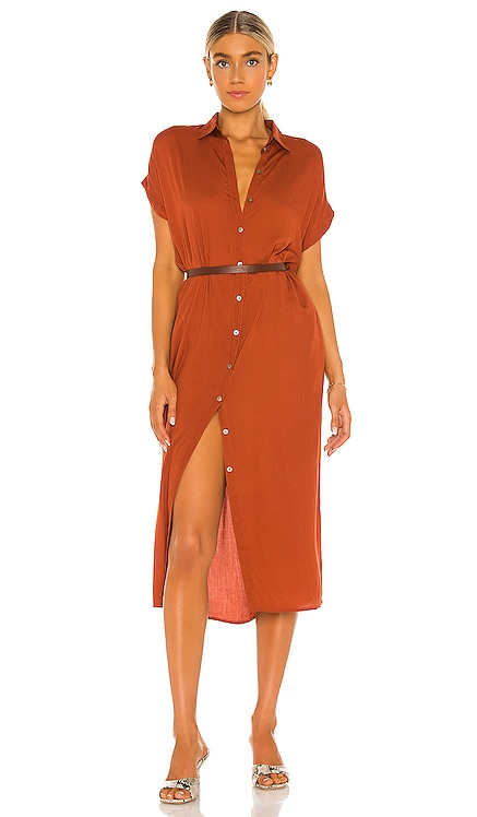 Delphina Shirt Dress Indah $124