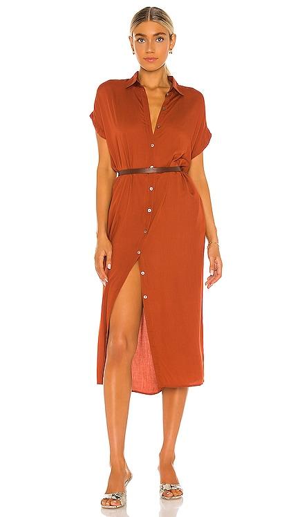 Delphina Shirt Dress Indah $176