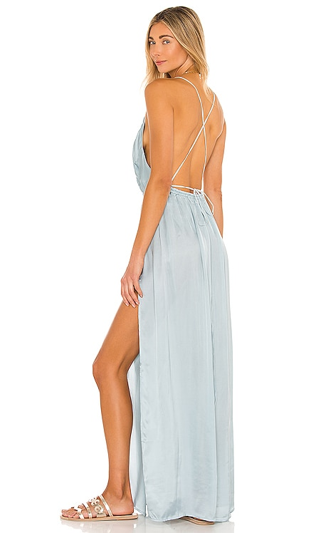 River Maxi Dress Indah $176 NEW
