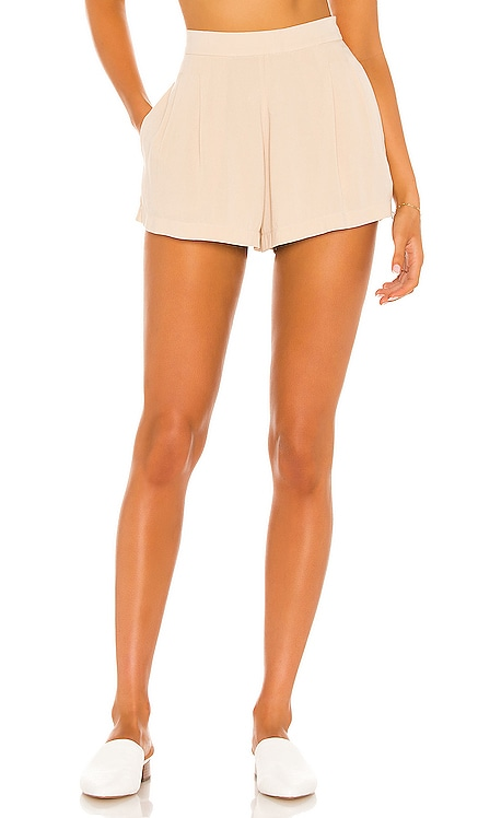 Lilly Pleated High Waist Short Indah $106