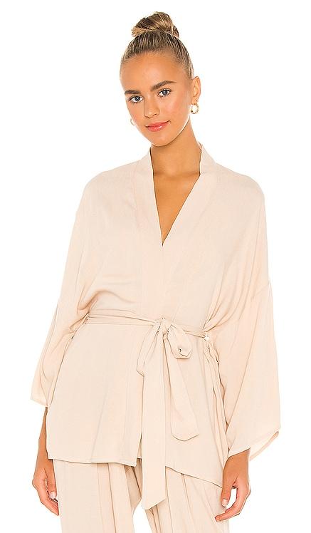 Kumala Solid Kimono Indah $145