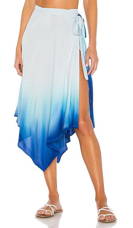 X REVOLVE Selena Wrap Skirt Indah $154