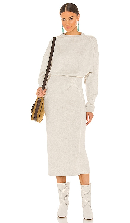 Meg Midi Dress Isabel Marant Etoile $475