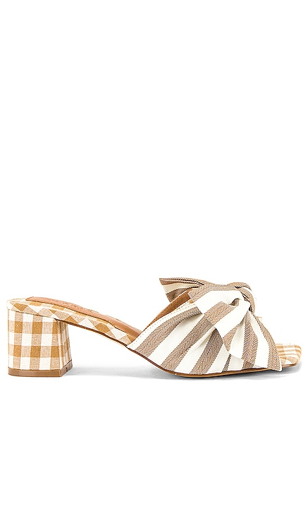 Bow Stripe Heel JAGGAR $146