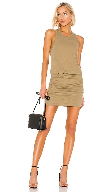 Racerback Blouson Dress James Perse $175 BEST SELLER
