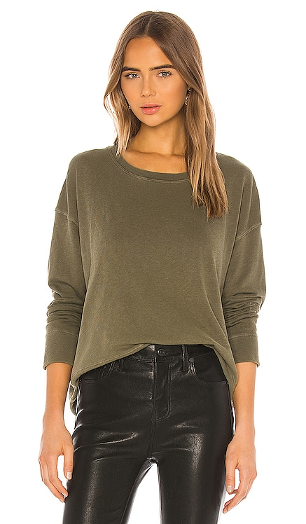 Relaxed Cropped Pullover James Perse $135