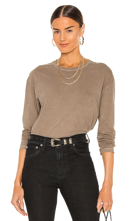 Boxy Long Sleeve Tee James Perse $85 NEW