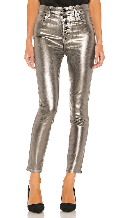 Lillie Coated High Rise Crop Skinny J Brand $135