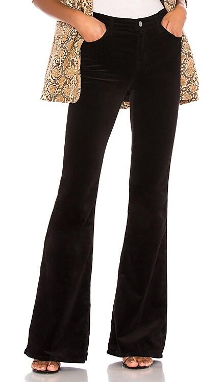 Valentina Velvet High Rise Flare J Brand $110