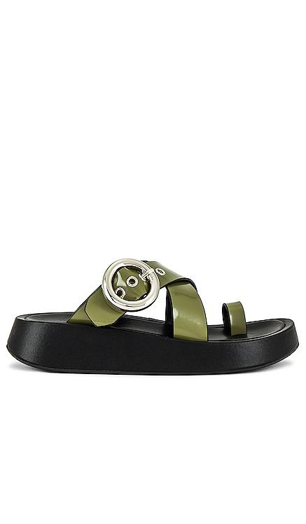 Genghis Flatform Sandal Jeffrey Campbell $95