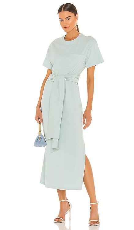 Sara Organic Cotton Short Sleeve Tshirt Dress JONATHAN SIMKHAI STANDARD $165 NEW