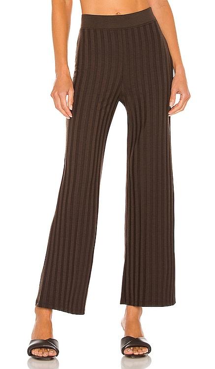 Celia Compact Rib Cropped Wide Leg Pant JONATHAN SIMKHAI STANDARD $155 NEW