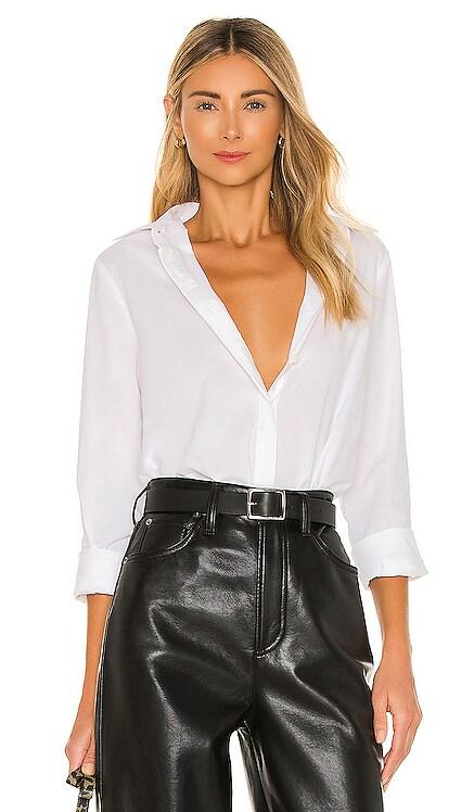 Oakley Oxford Shirt Bodysuit JONATHAN SIMKHAI STANDARD $175