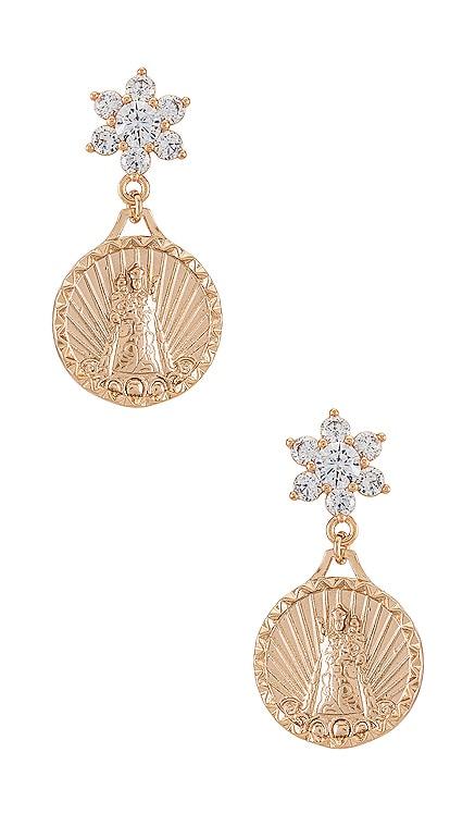 Helper Coin Earrings Joy Dravecky Jewelry $79