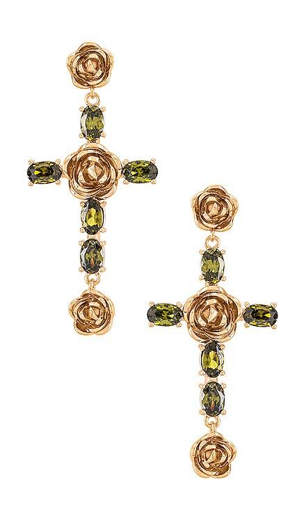 Rosa Cross Earrings Joy Dravecky Jewelry $82
