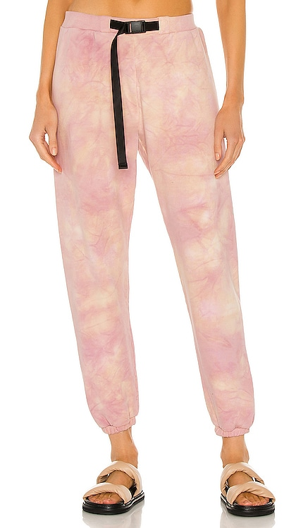 Belted Sweatpants JOHN ELLIOTT $498 NEW