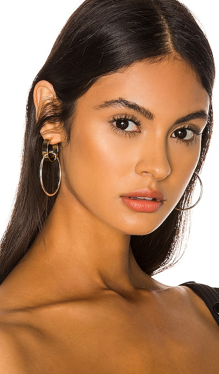 Imogen Hoop Earrings Jenny Bird $85