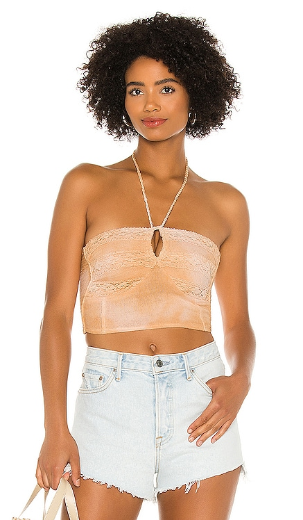 Palm Leaf Corset Top Jen's Pirate Booty $69