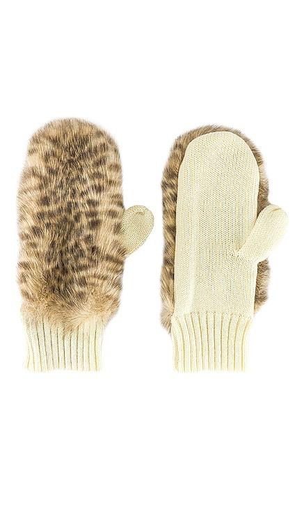 Faux Fur Mitten jocelyn $50 NEW