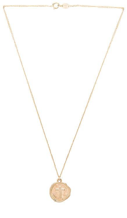 Cross Coin Necklace joolz by Martha Calvo $99