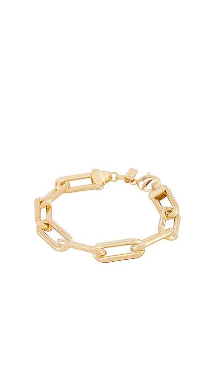 Box Link Bracelet joolz by Martha Calvo $54