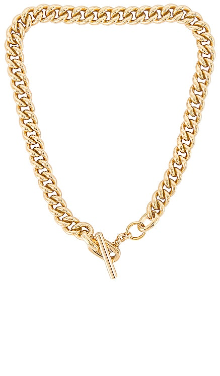 Alex Curb Link Toggle Necklace joolz by Martha Calvo $187 NEW