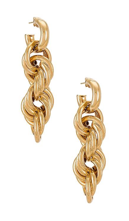 Amina Earrings joolz by Martha Calvo $128